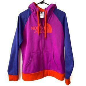 The North Face   Women's Multicolor Zip Up Fleece